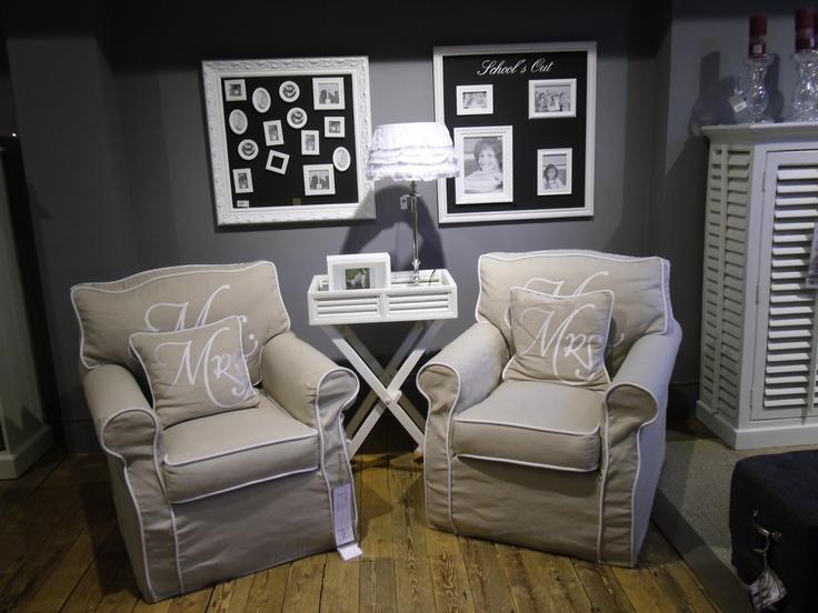 Mr.& Mrs. Chairs, Riviera Maison