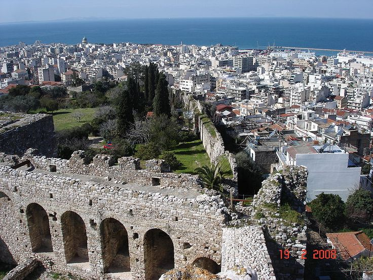 View from the castle of Patras, Greece