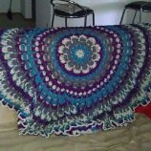17 Best images about CROCHET - ROUND AFGHANS on Pinterest ...