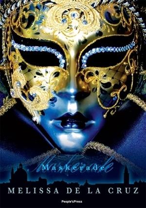 Maskerade (Blue Bloods #2) by Melissa de la Cruz: Gorgeous Book, Book Club, Teen Vampire, Beautiful Book, Vampire Novles, Book Covers, Blue Bloods