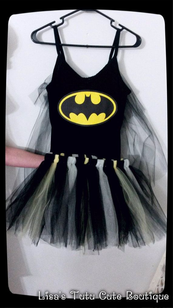 Adult Batman costume with attached cape on Etsy, $40.00