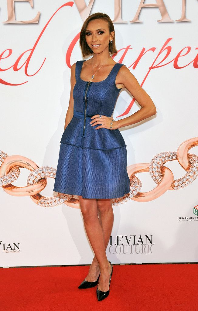 Television personality Giuliana Rancic arrives at the 2015 Le Vian Red Carpet Revue at the Mandalay Bay Convention Center on June 1, 2014 in Las Vegas, Nevada.