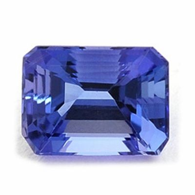 pendant jewelry blue cut tanzanite product in color rhodiumplated emerald crystal swarovski emeraldcut lyst necklace no