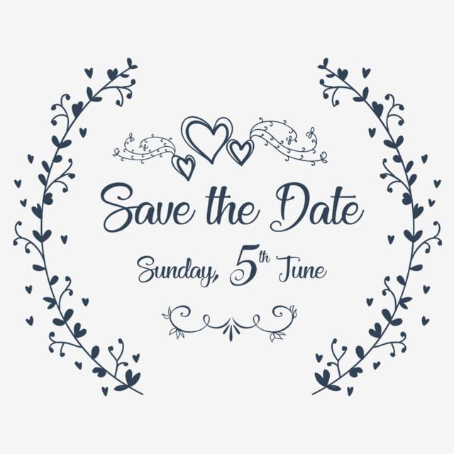 Save The Date Invitation Ornaments Save The Dateinvitation Decorative Ornaments Png And Vector With Transparent Background For Free Download Save The Date Invitations Save The Date Illustrations Floral Save The Dates