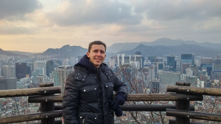 Through a direct exchange from #JCURome, Giuseppe got to experience the Korean culture on a first-hand basis.