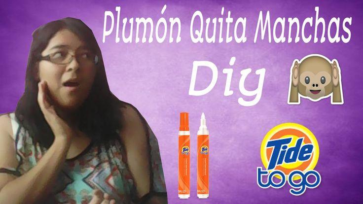 DIY Tide To Go|Plumón Quita Manchas