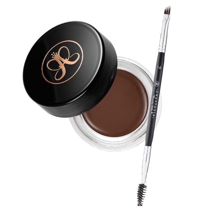 What Every Beginner Needs to Have in Her Makeup Kit - Eyebrow Pomade and Spoolie Brush from InStyle.com