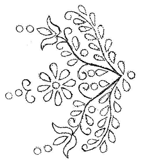 komádi hímzés, cakkos kötényminta - Komádi füzetek I. 2009. június - A komádi fehér- és vászonhímzés múltja és jelene - pdf page 40