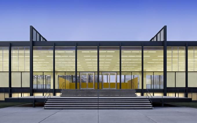 Restoring Mies van der Rohe: S.R. Crown Hall by Krueck and Sexton Architects. Photography © Bill Zbaren. Courtesy of Krueck and Sexton Archi...
