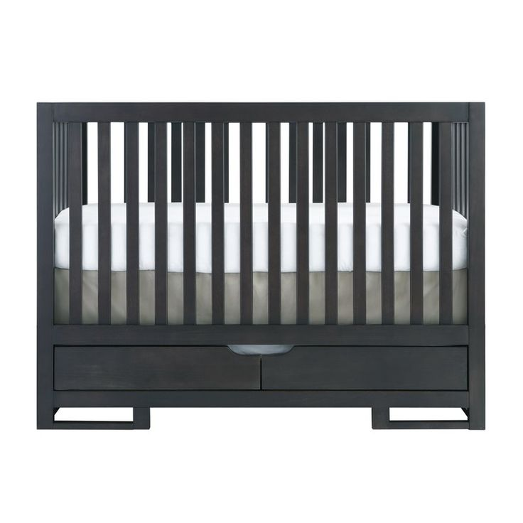 Add a contemporary flair to your child's room with the Karla Dubois Oslo 2-in-1 Convertible Crib. This standard crib has a solid wood construction, which keeps it strong and durable for several years to come. This crib is a convertible piece and the mattress height can be adjusted into three different positions. This crib features two stylish and functional lower drawers, which provides optimum space to store your child's essentials. Featuring an eco-friendly design, this Oslo 2-in-1…