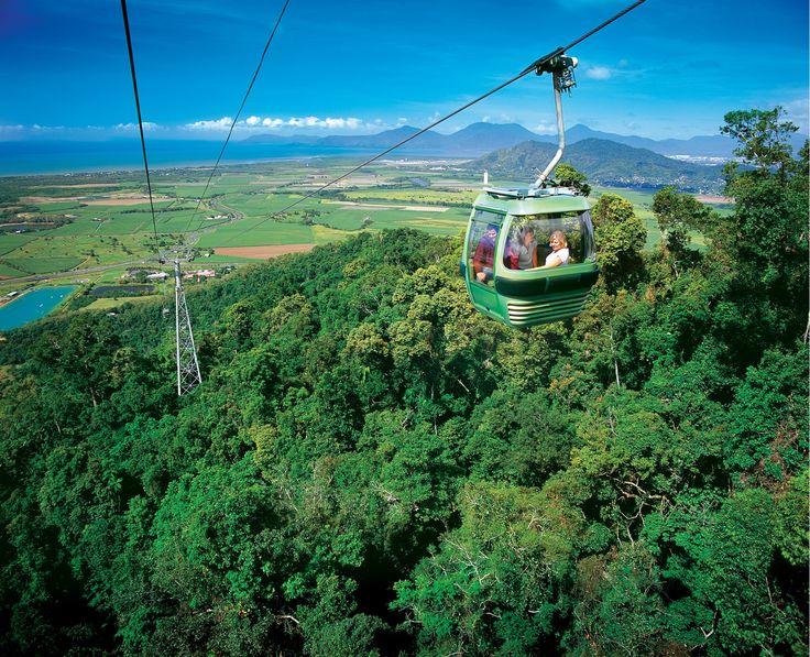 Float above the Rainforest with Skyrail in Cairns, Australia