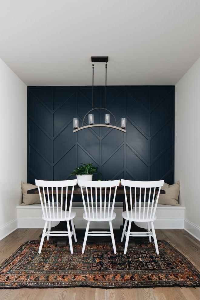 Moderne Bauernhaus Stadthaus Design Ideen Dining Room Accent Wall Dining Room Accents Interior Design