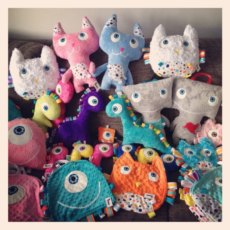 Les TrOnches / Group pic    cute toys for kids!    www.lestronches.ca