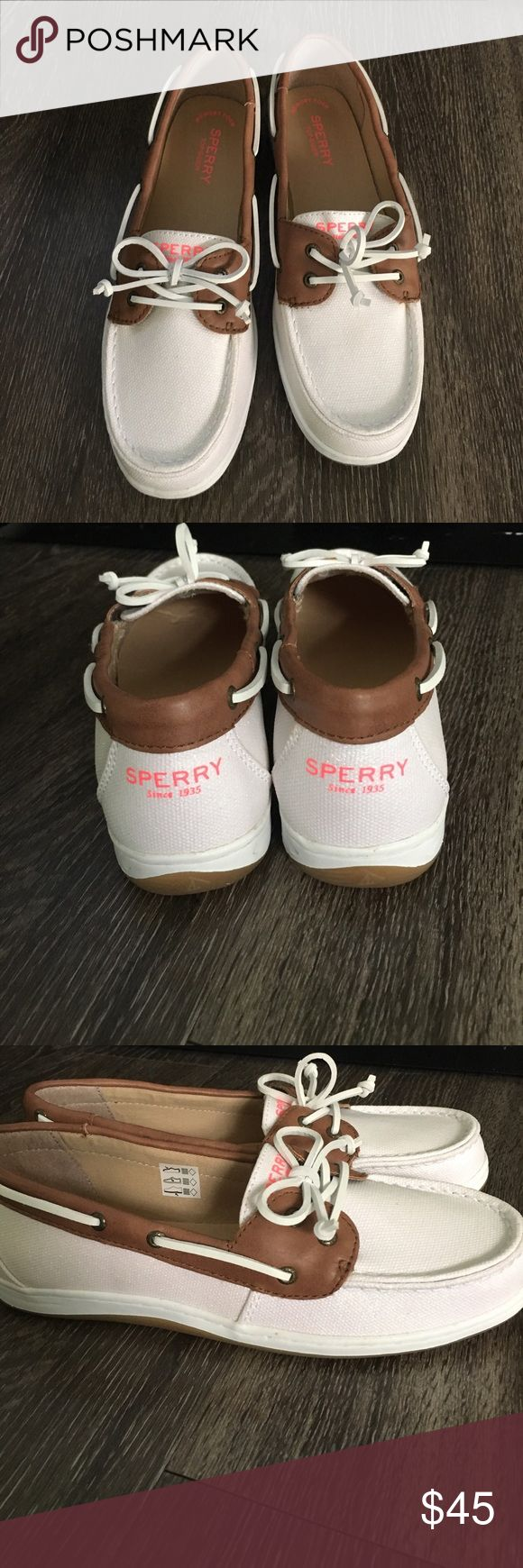 Nib sperry top sider Super cute for girls unless you can fit 5.5 Sperry Top-Sider Shoes