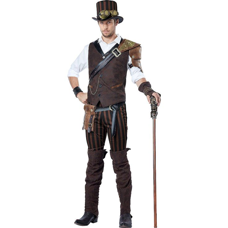 Adult Adventurer Steampunk Costume | Party City