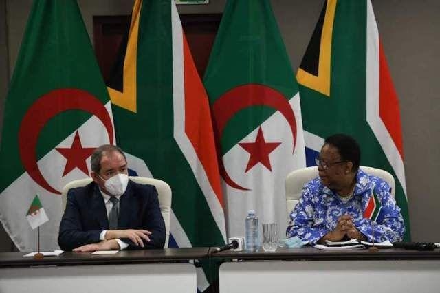 الجزائر تعزز التحالف مع جنوب إفريقيا في معاداة قضية الصحراء المغربية In 2021 Painting
