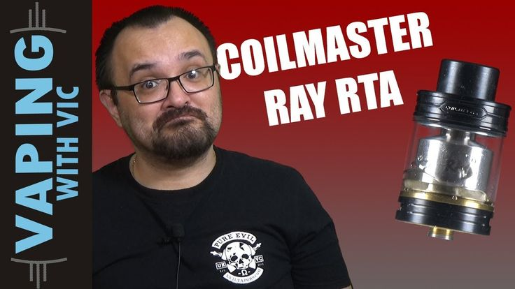 Coil Master RAY RTA Review - A decent budget tank?