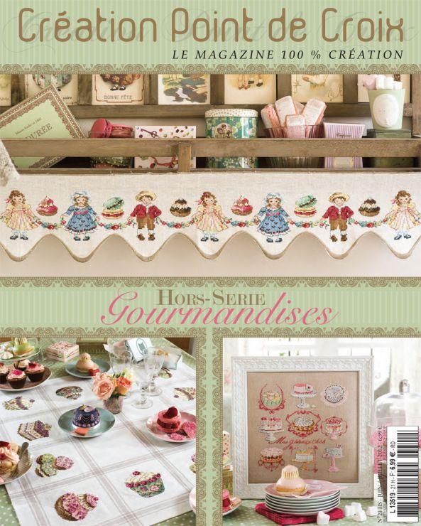 Creation de Point de Croix - Hors-Série No. 21 Gourmandises -  Jun./Jul. 2012