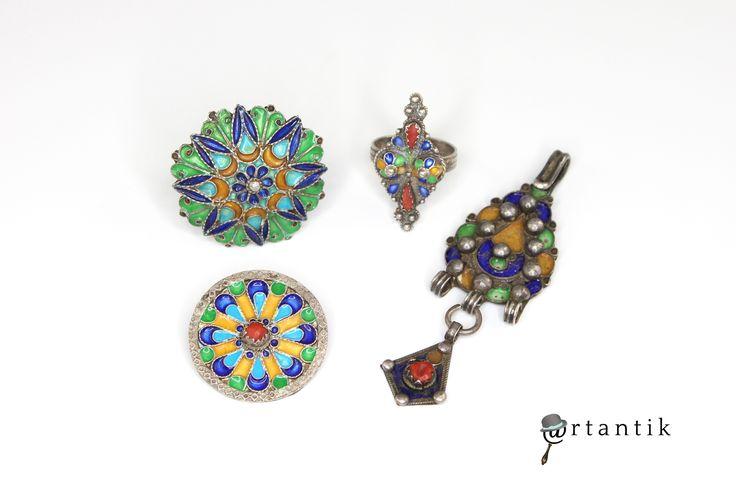 Bijuterii kabyle, bijuterii berbere, bijuterii etnice, bijuterii tuarege, bijuterii vintage, antichitati