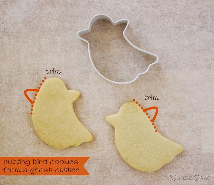 Quick and Easy Fall Birds Cookie Tutorial | Klickitat Street