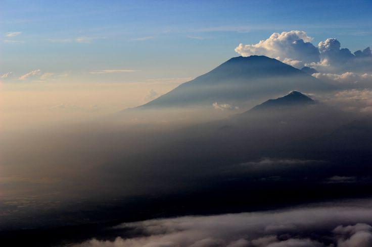 Merbabu & Telomoyo Cloudy