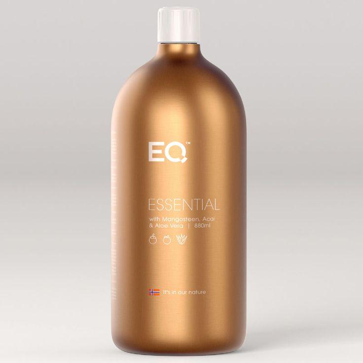 EQ Essential - Eqology EQ Essential is een complete dagelijkse antioxidant supplement. Het bevat een volledig gamma van vitaminen en mineralen, plus plantaardige voedingsmiddelen zoals mangosteen extract, acai, aloë vera, flavonoïden uit bosbessen en groene thee-extract.