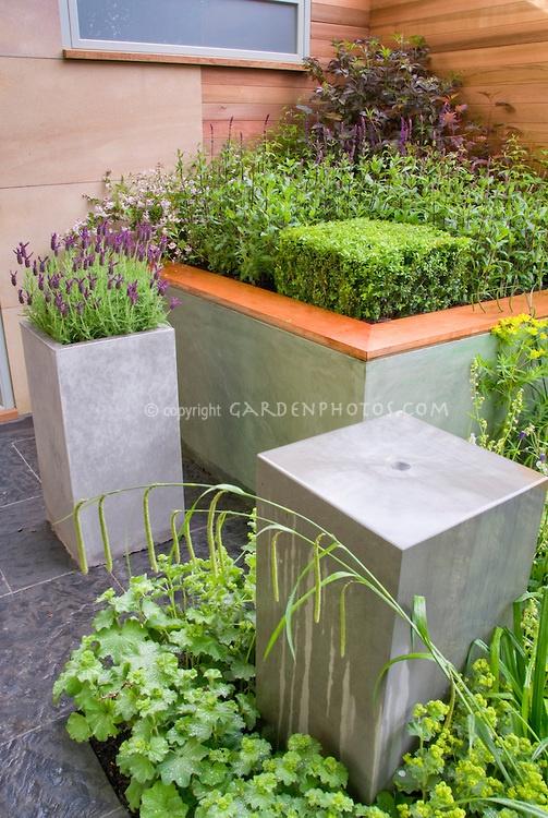 Cement Container Planters : Best images about concrete planter boxes on pinterest
