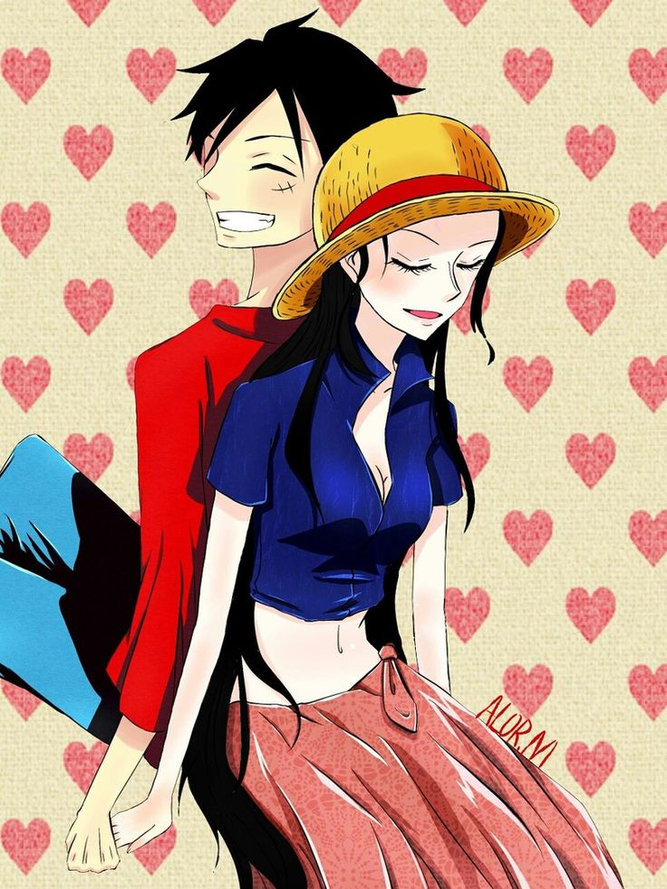 33 best luffy x robin images on pinterest european robin robins and nico robin - One piece luffy x robin ...