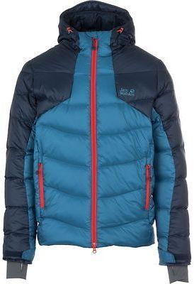 Jack Wolfskin Svalbard II Down Jacket - Men's Moroccan Blue S