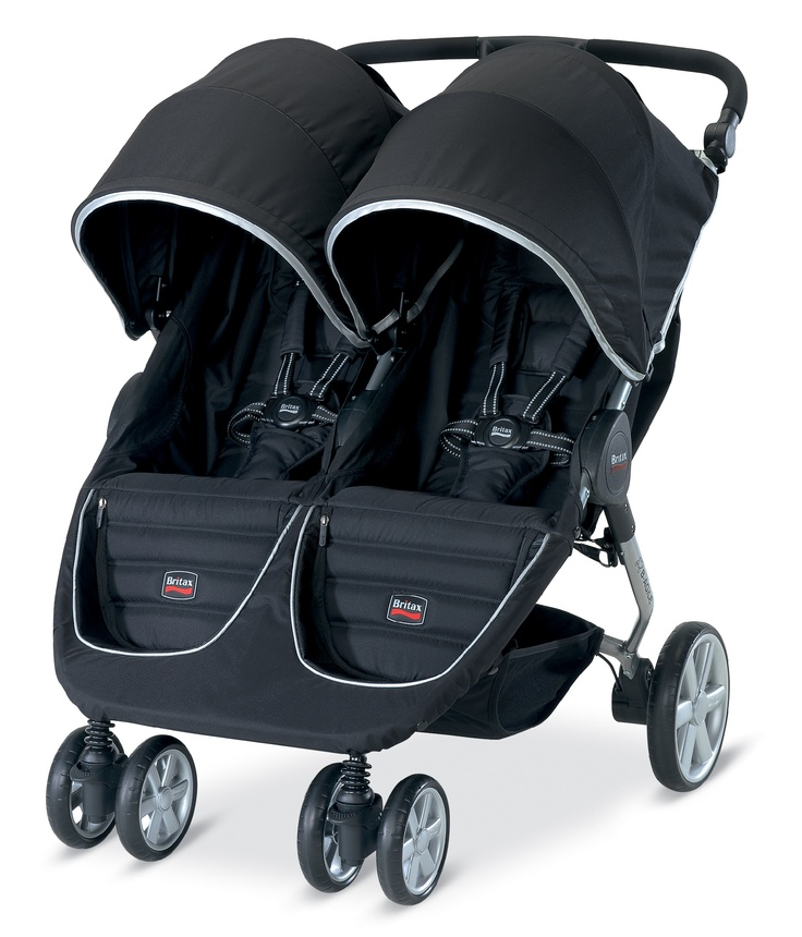Britax BAgile Double Black Britax double stroller