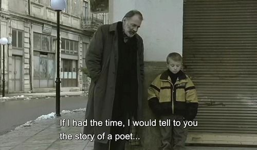 Eternity and a Day (1998), Theo Angelopoulos