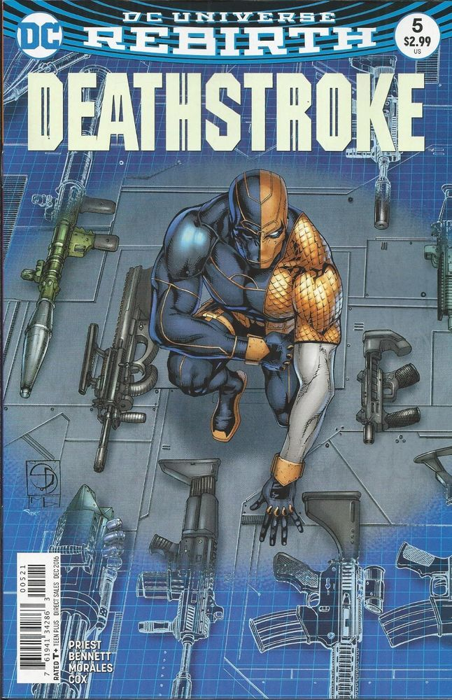 DC Rebirth Deathstroke comic issue 5 Limited variant
