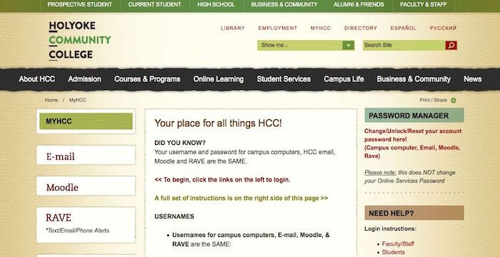 HCC Email