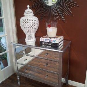 DIY Mirrored Dresser   Pier One Hayworth Vanity