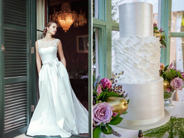 Moira Hughes Couture Sydney Designer Historic Lindesay House Outdoor Wedding Moirahughes Www