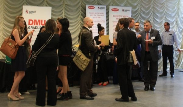 Graduates get to meet their business mentors at the evening, mentoring event