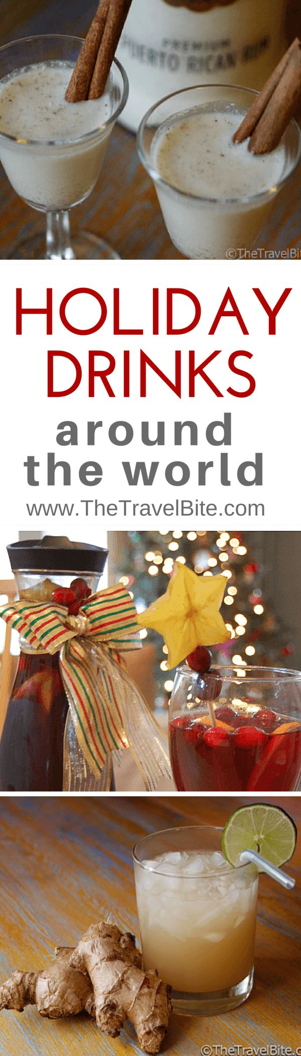 5 Holiday Drinks From Around The World That Make Excellent Gifts ~ http://thetravelbite.com