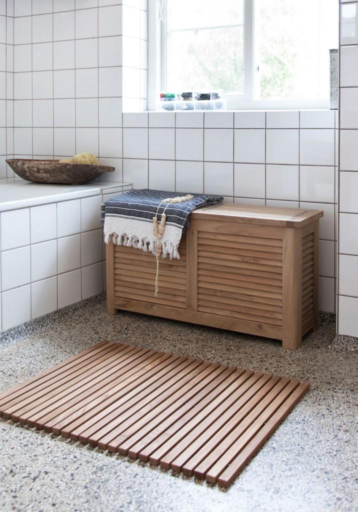 Genial Badezimmer Truhe Sitzbank Bad Waschetruhe Sitzbank Truhe