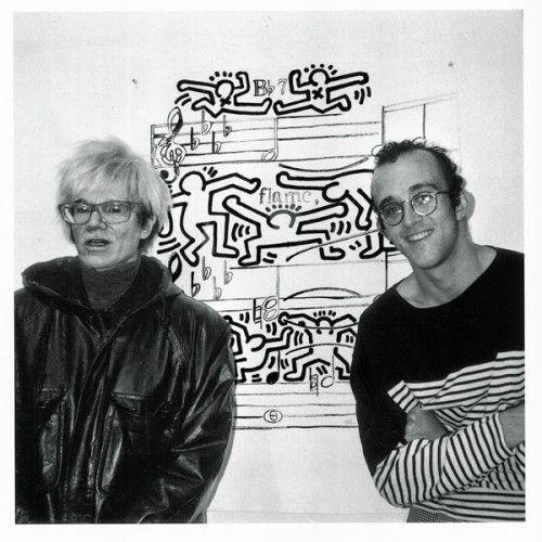 Andy Warhol & Keith Haring