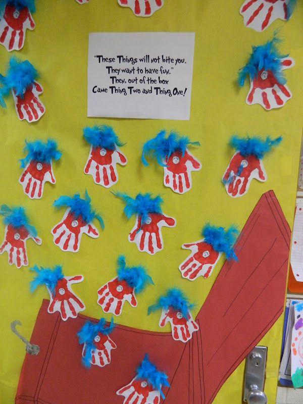Dr Seuss Door Decorating Contest Ideas | Our school had a door decorating contest to help celebrate Dr. Seuss