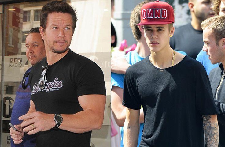 "Mark Wahlberg aconselha Justin Bieber: ""pare de fumar maconha"""
