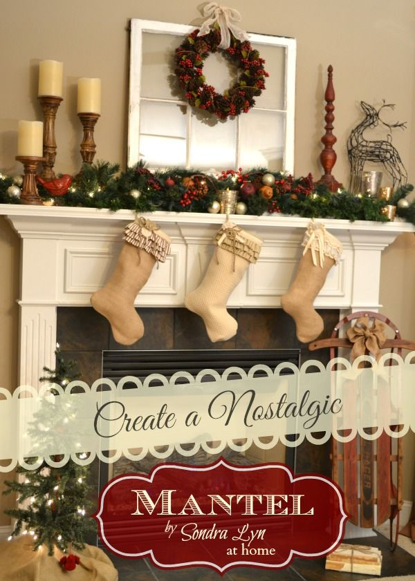 Decorating A Mantel For Christmas best 25+ christmas mantle decorations ideas on pinterest