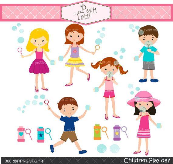 girls clip art summer activity kids clip art  soap bubbles clip art png bubbles clip art drawing
