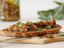 Κονσέρβα μανιτάρια πλευρώτους - ψητά και μαριναρισμένα | TasteFULL