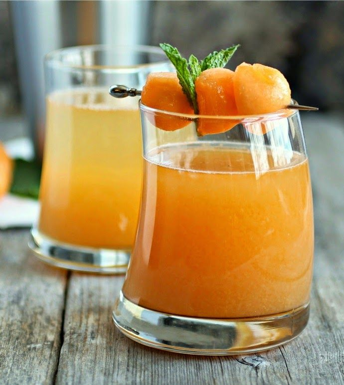 : Cantaloupe Melon Martini: Happy Hour, Cocktail Recipes, Cantaloupe ...