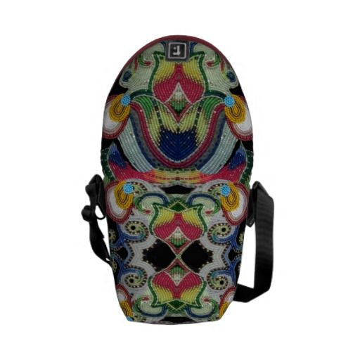 Native American Beaded Bag Messenger Bags