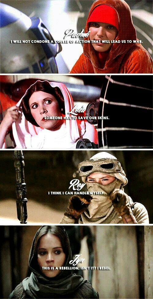 The Leading Ladies of Star Wars