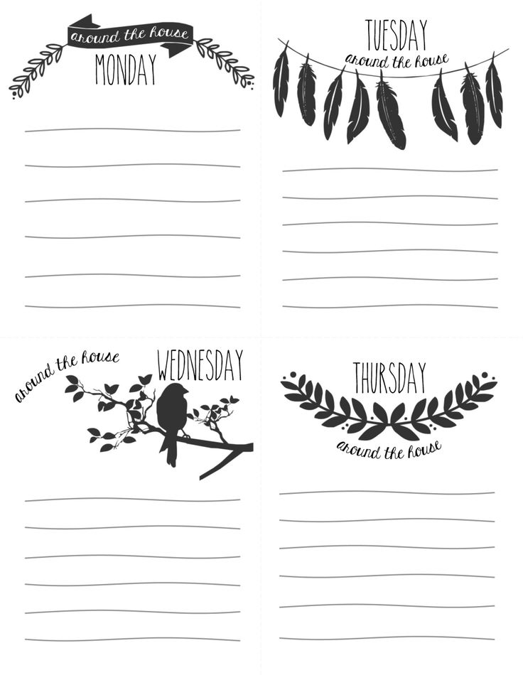 Best Plan Images On   Planner Ideas Printables And