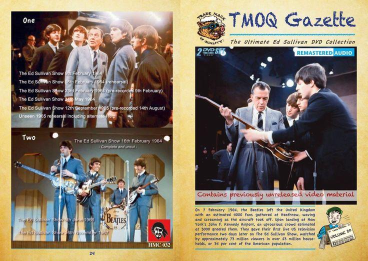 The Beatles : The Complete Ed Sullivan Shows (2 DVD Set)