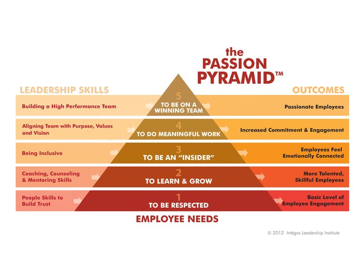 Free Employee Engagement Surveys  IntgroS Passion Pyramid